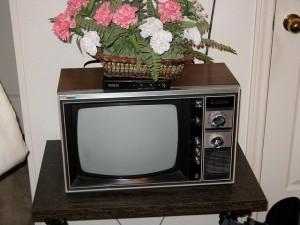 TV antiga Sanyo