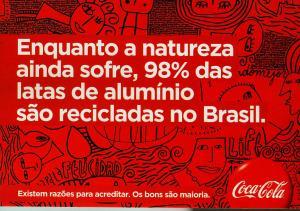Campanha atual da Coca-Cola